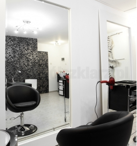 lustra salon fryzjerski