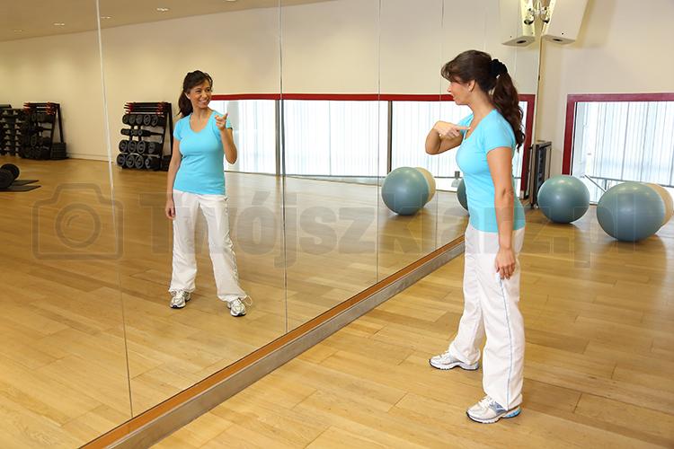 lustro do sali gimnastycznej