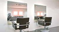 lustra zakład fryzjerski