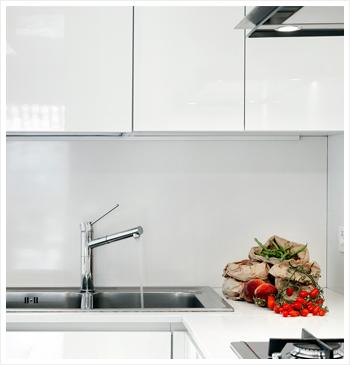 lacobel w kuchni