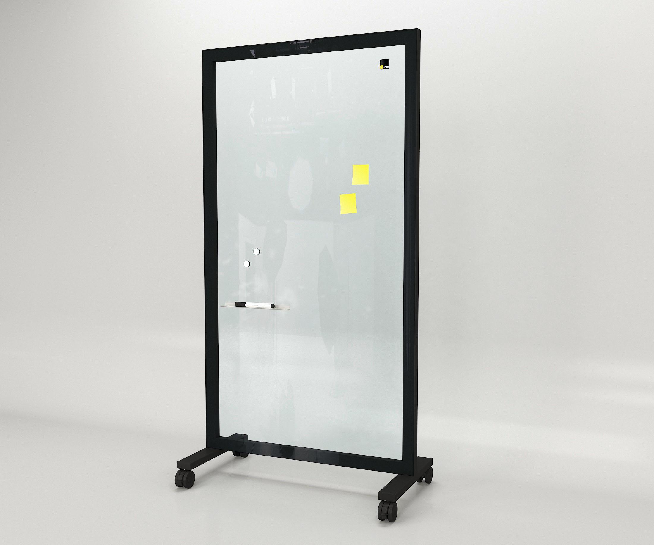 scianka biurowa szklana