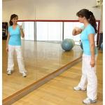 lustra do siłowni fitness