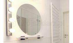 Szlifowane lustro na wymiar w kształtcie koła